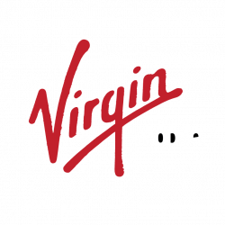 an image of the virgin mobile logo on a transparent background